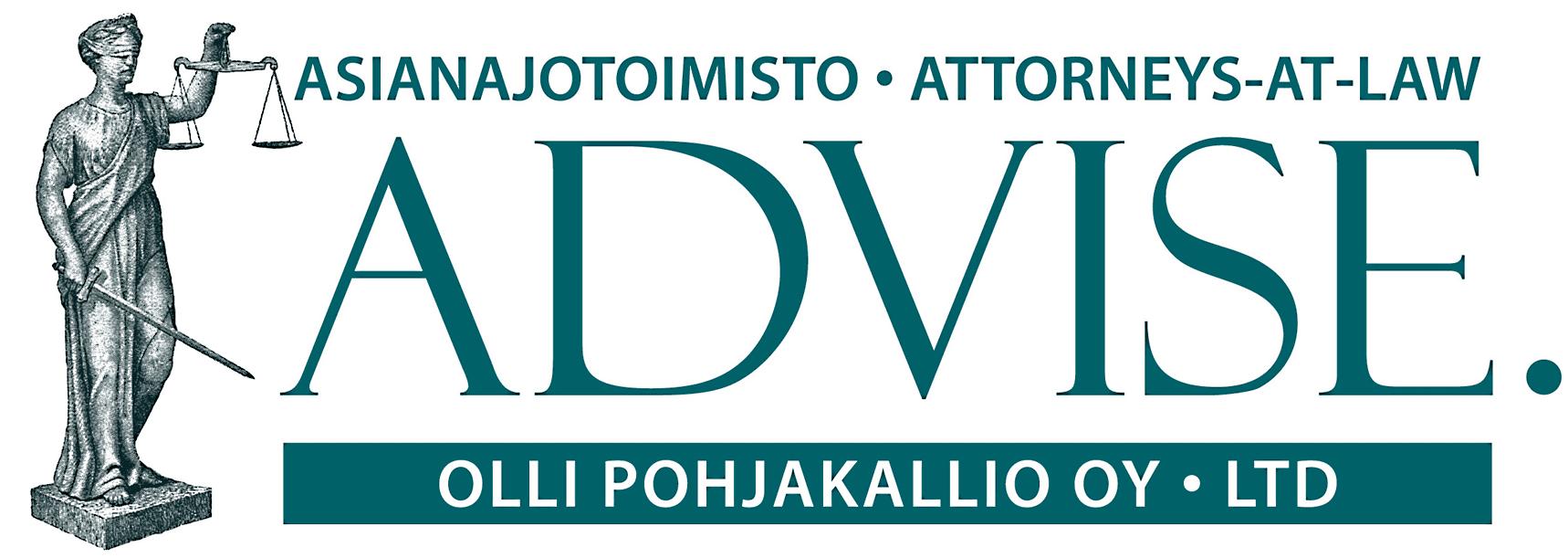 ADVISE. Asianajotoimisto Olli Pohjakallio Oy